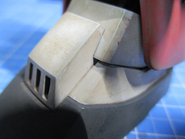 ウォッシングの後にキムワイプを使ってリアルに汚した画像3