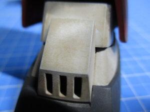 ウォッシングの後にキムワイプを使ってリアルに汚した画像2