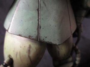 マキシマムザクをリアルタッチマーカーでウェザリングした画像4