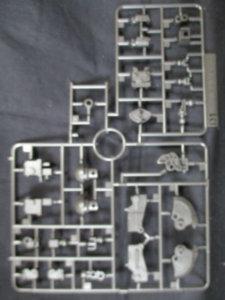 1/144HGシャア専用ザクⅡオリジン版のパーツ画像9