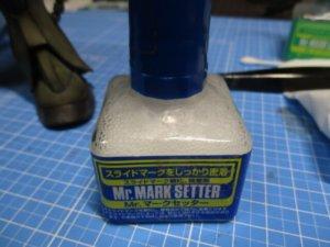水転写デカールを貼る時に使うのりマークセッター