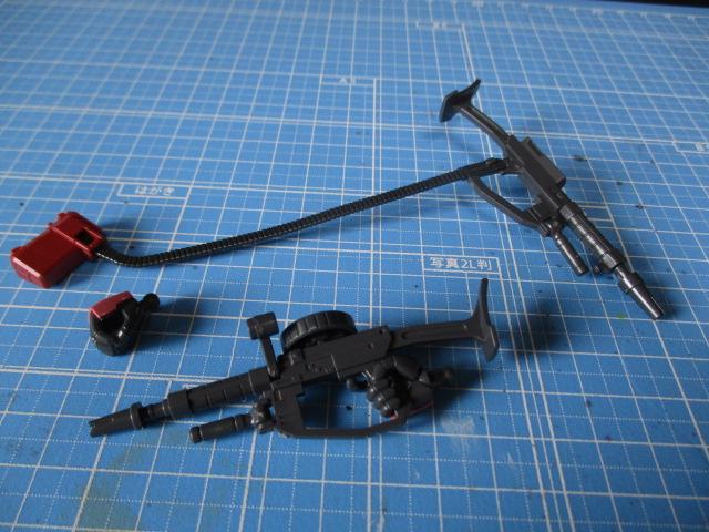 HG1/144シャア専用ザクⅠ(プレバン限定)の武器一覧
