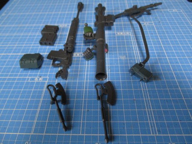 HGザクⅡタイプC-6/R6の武器一覧