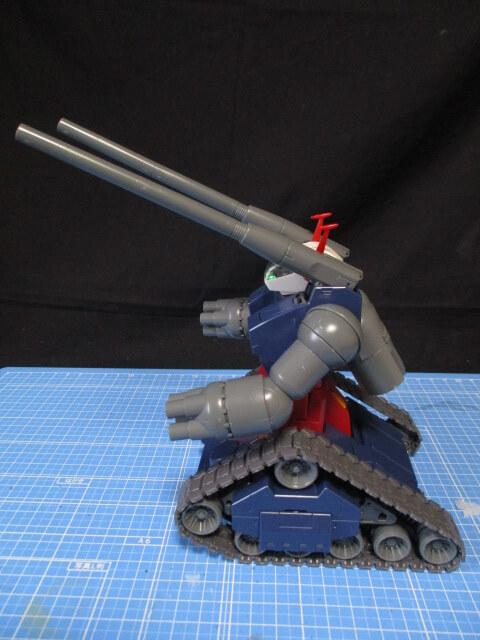 MG1/100ガンタンクの横からの画像