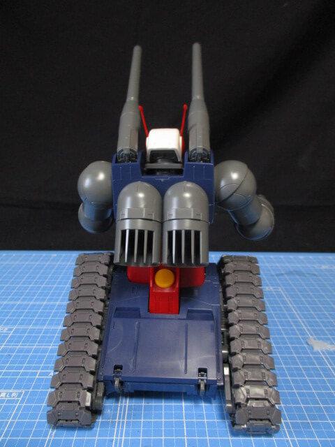 MG1/100ガンタンクの後ろ姿
