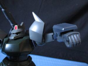 HG1/144ゲルググキャノンの腕の可動範囲1