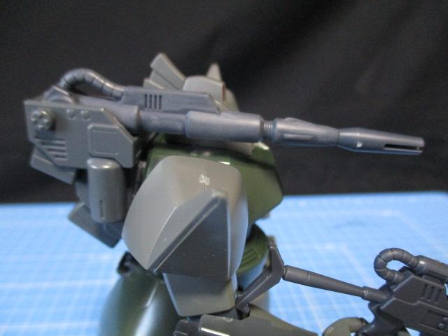 HG1/144ゲルググキャノンのキャノン砲のアップ画像